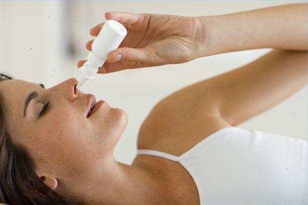 næsespray med saltvand